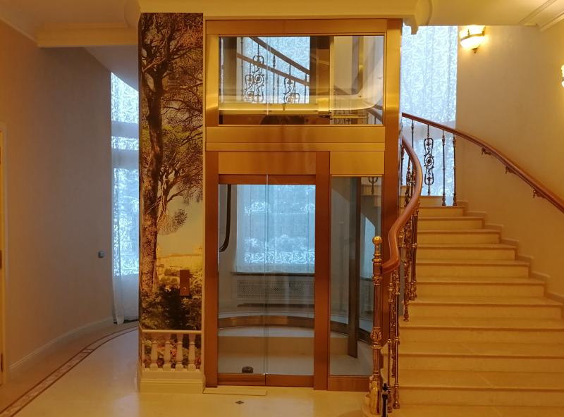 Когда в коттедже не хватает лифта